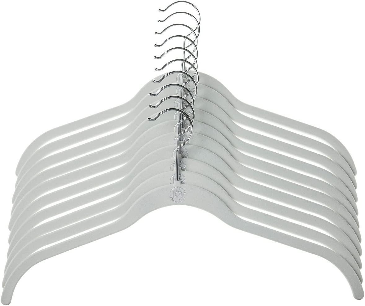 White Joy Mangano JHR011000 24 Pk Suit//Shirt Huggable Hangers