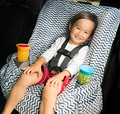 NIKO Easy Wash Children's Car Seat Cover & Liner - Minky Toddler Car Seat Cover
