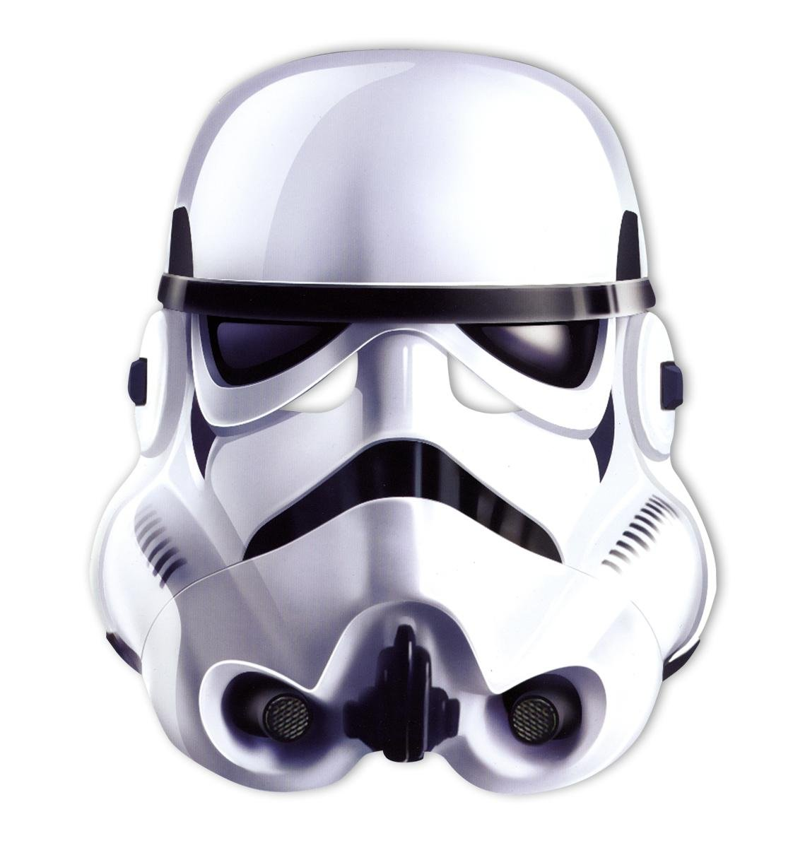 Amazon.com: Star Wars party-mask Stormtrooper: Kitchen & Dining
