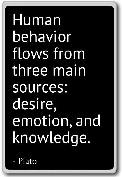 Amazoncom Human Behavior Flows From Three Main Sources Desire