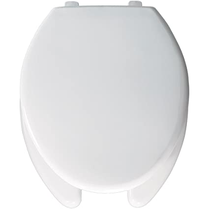 Admirable Church 290Tla 000 Plastic Elongated Toilet Seat White Theyellowbook Wood Chair Design Ideas Theyellowbookinfo