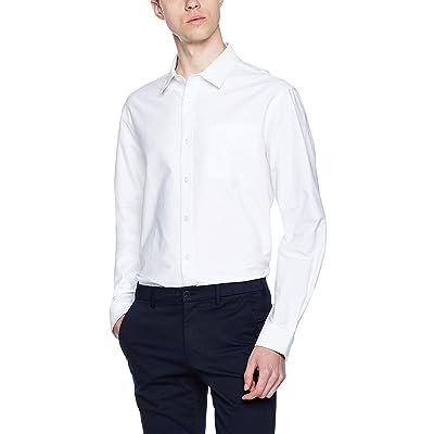Lumberfield Plain 100% Cotton Men's Casual Button-Down Shirts: Clothing