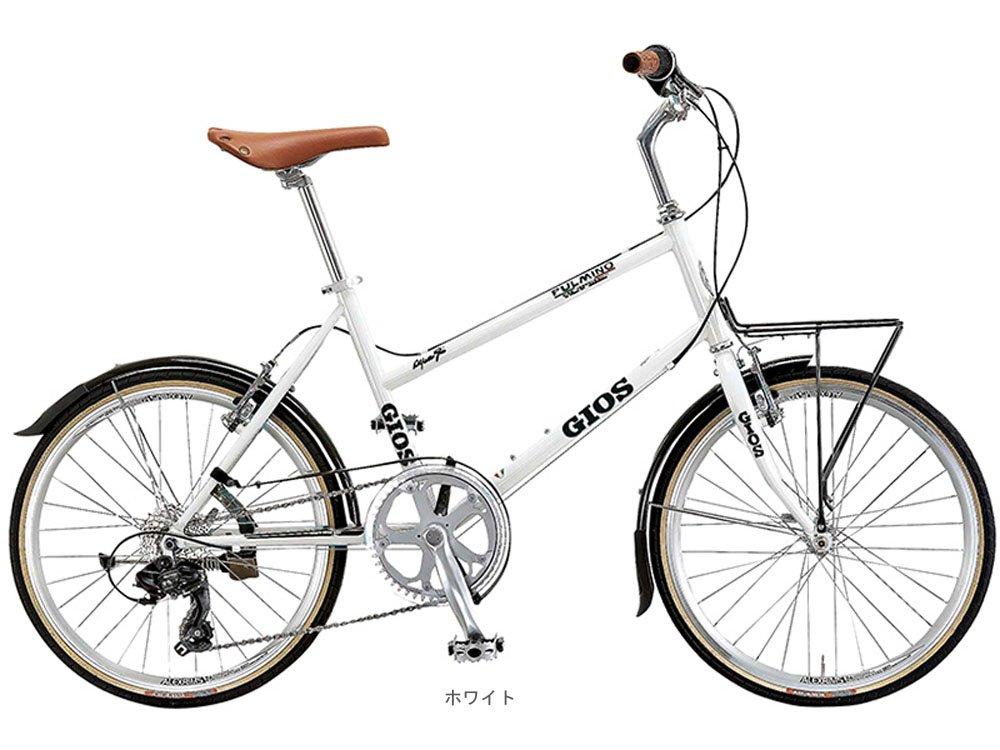 GIOS(ジオス) 2018 PULMINO プルミーノ(1x7速)ミニベロバイク20インチ <400mm ホワイト> B078N9FD9B
