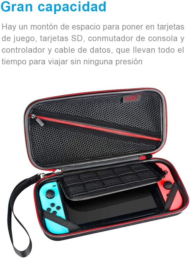 Amazon.com: Hard Carrying Case for Nintendo Switch-HSU ...