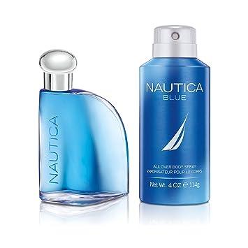 e9b6085e6a92 Amazon.com : Nautica Blue, Men's Fragrance, 2 Piece Set, 1.7 oz. Eau ...