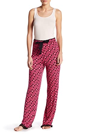 4163c60cc1 kensie Women s Jersey Pajama Pants 95% Rayon 5% Spandex at Amazon ...