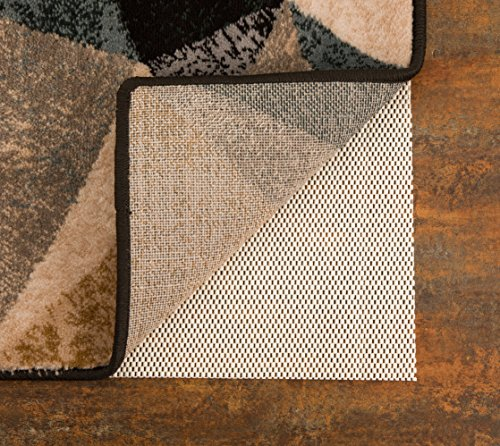 Vitos Casa Extra Thick Non-Slip Area Rug Pad | Can Be Trimmed, For Hard Floor Surface, Keeps Your Rugs In Place, Keeps You Safe, Easy Vacuuming (9' X 12')