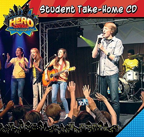 Vacation Bible School VBS Hero Central Student Take-Home CD: Discover Your Strength In God!