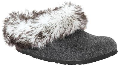 BIRKENSTOCK Kaprun High, Damen Hausschuhe, Grau Inuit