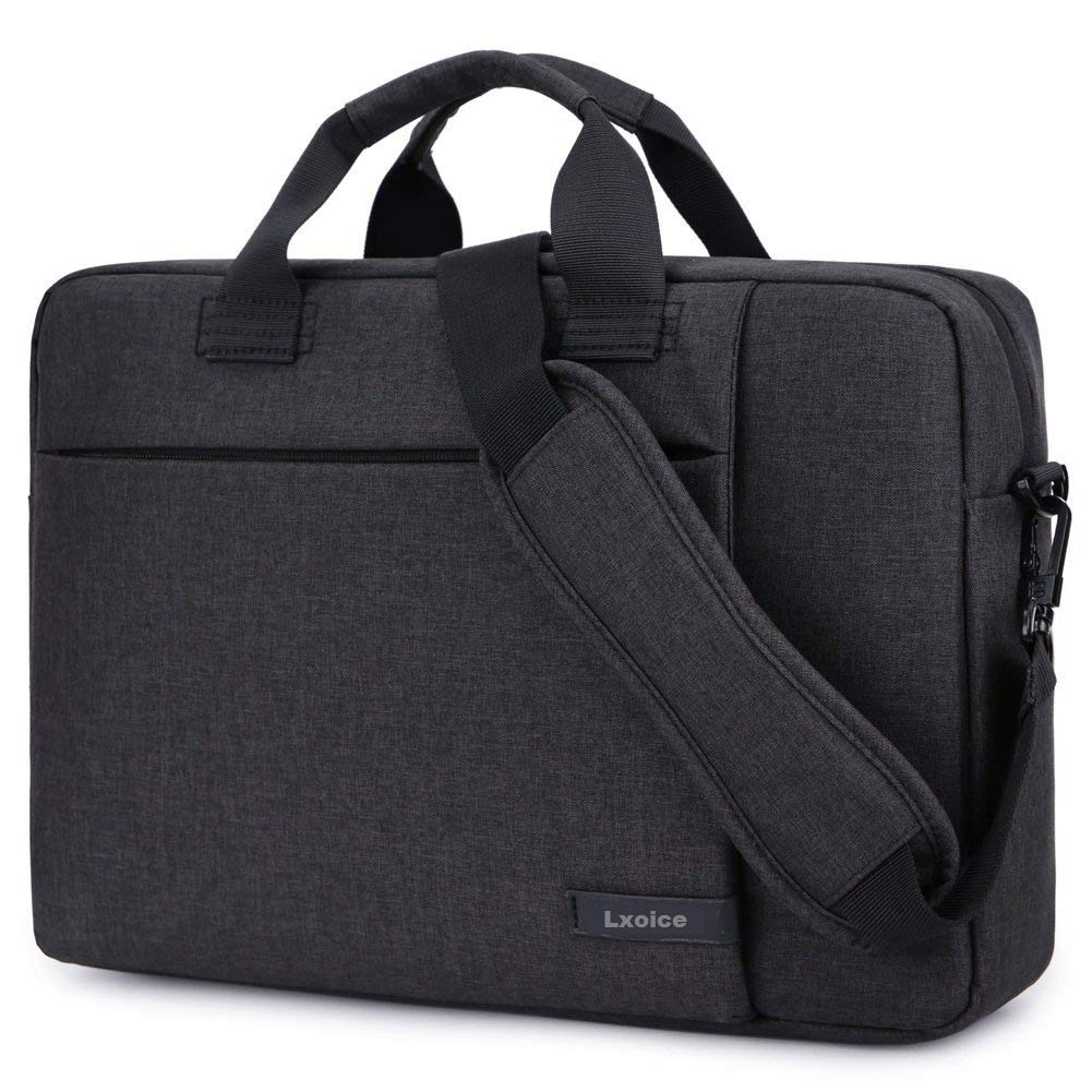 LXOICE Office Laptop Bags Briefcase 15.6 Inch for Women and Men (Dark Grey)  - Buy LXOICE Office Laptop Bags Briefcase 15.6 Inch for Women and Men (Dark  Grey) Online at Low Price