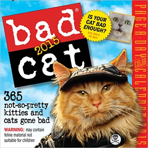 Book Bad Cat 2015 Page-A-Day Calendar
