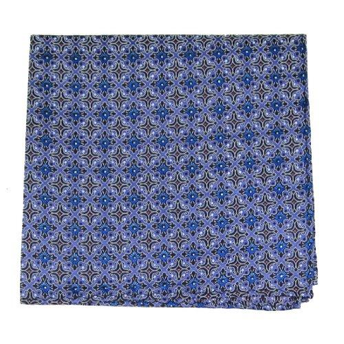 PS-10419 - Lavender - Black - Blue Mens Fashion Pocket - Fashion Sqare