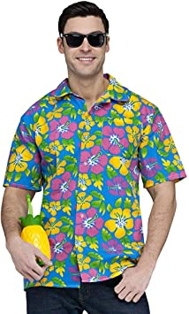 Camisa Hawaiana colorido: Amazon.es: Juguetes y juegos