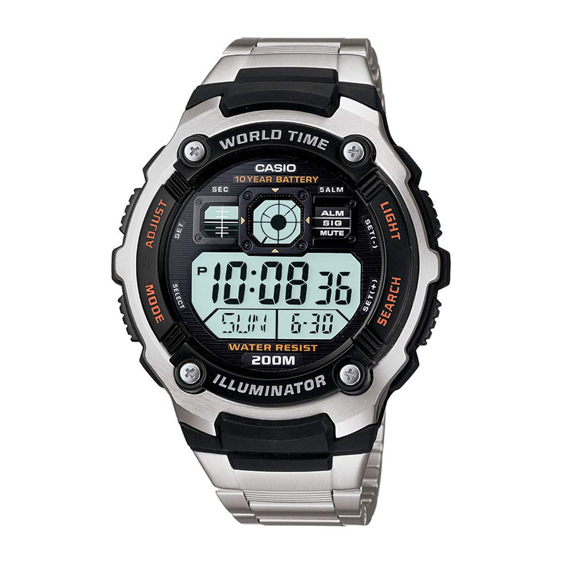 Amazon.com: Casio General Mens Watches Sporty Digital AE-2000WD-1AVDF - WW: Watches