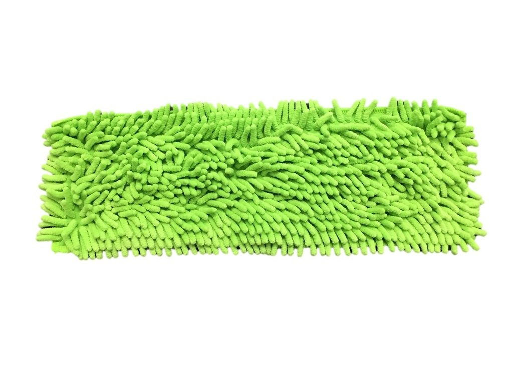 Microfiber Mop Kit with Frame, 59'' Telescoping Pole and Heavy Duty Chenille Pad with Quick Connect Snap By Legacy Pro by Legacy (Image #2)