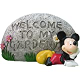 Design International Group LDG88128 Welcome Stone, 4 by 6.75-Inch, Mickey