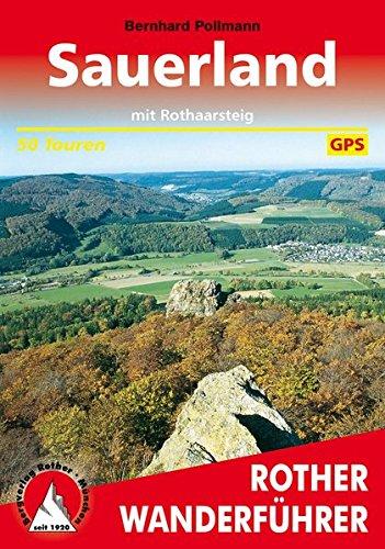 Sauerland - mit Rothaarsteig (Rother Wanderführer) Taschenbuch – 3. September 2015 Bernhard Pollmann Bergverlag Rother 3763340386 Reiseführer Sport