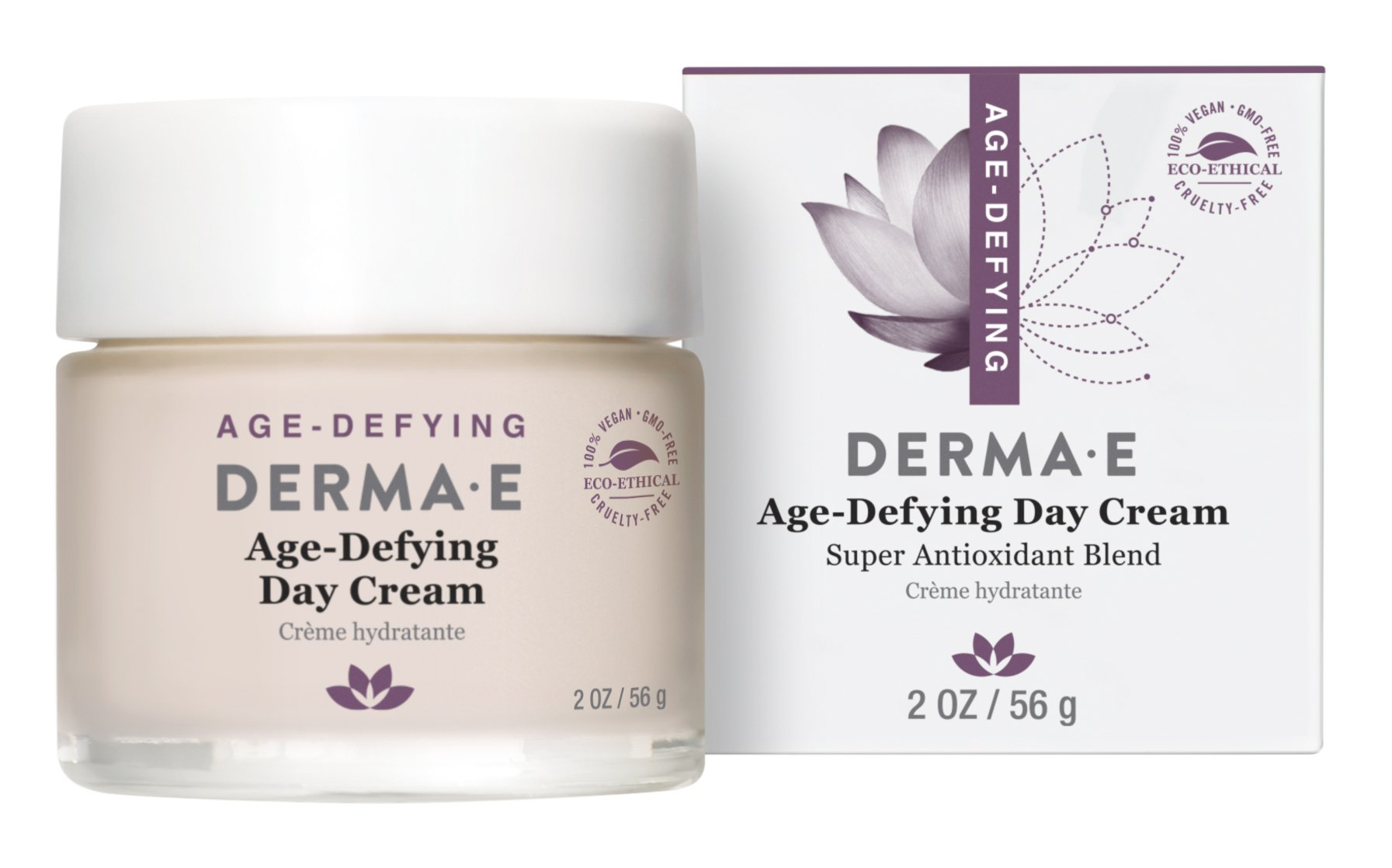 Age-Defying Super Antioxidant Blend Night Cream - 2 oz. by DERMA-E (pack of 1) biotherm homme total recharge non-stop moisturizer 50ml/1.69oz