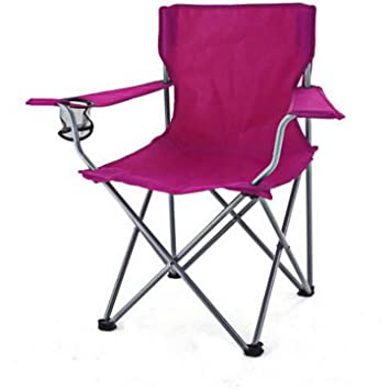 Amazon.com: Portátil Asiento Plegable Silla Camping al aire ...