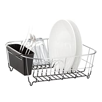 Deluxe Chrome-plated Steel Dish Rack