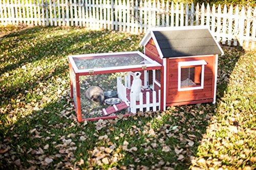 Advantek The White Picket Fence Rabbit Hutch