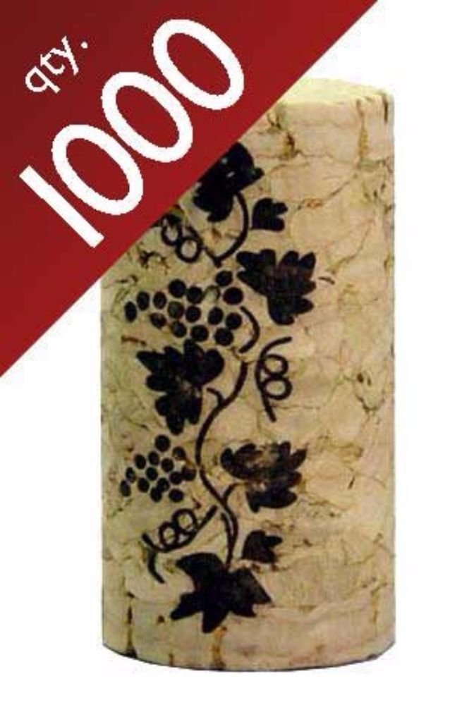#9 Premium Corks 15/16'' x 1 3/4''.  Bag of 1000