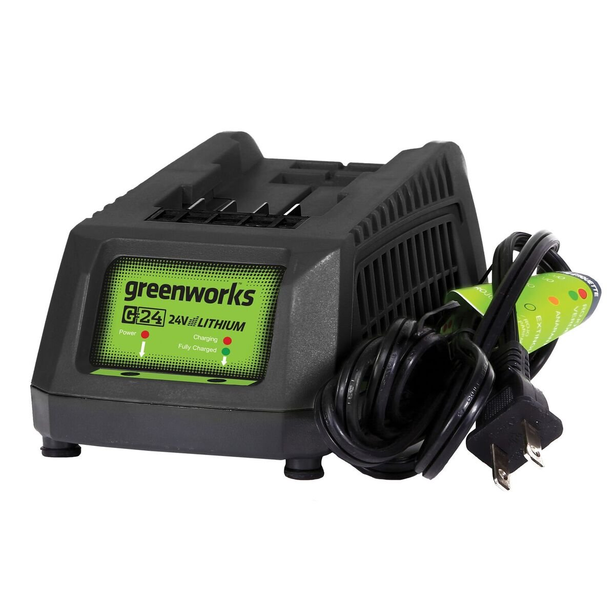 Greenworks 24V Lithium Ion Battery Charger 29862