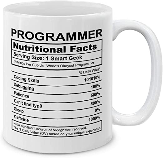Binary It /'s As Easy As 1 2 3 Funny Printed Mug-Ideal Gift//Present