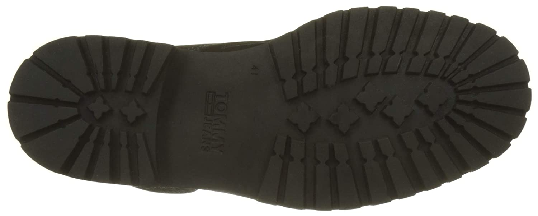 Hilfiger Denim Herren Schwarz Iconic Tommy Jeans Nubuck Chukka Boots Schwarz Herren (Black 990) d9595e