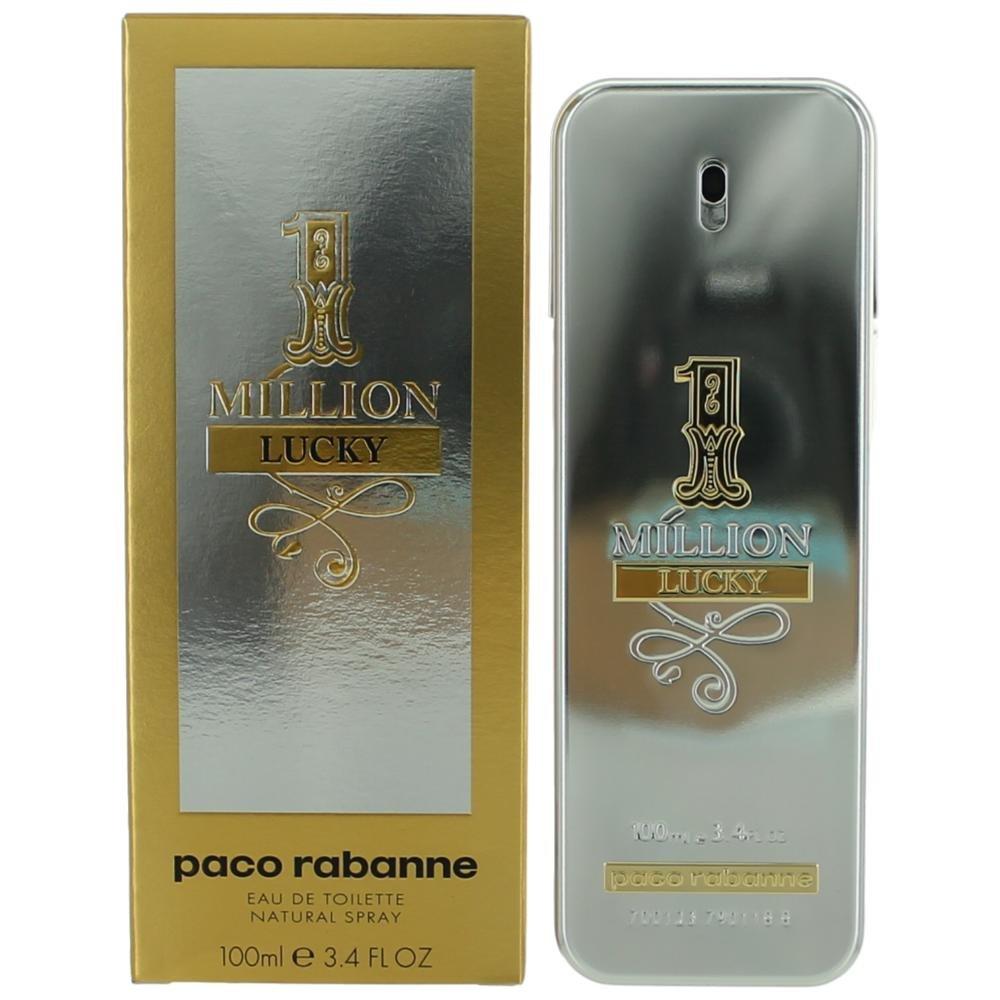 1 Million Lucky by Paco Rabanne Eau de Toilette Spray 100ml
