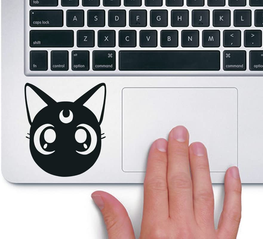stickerartistry Luna Head Sailor Moon - Trackpad Apple Macbook Laptop Vinyl Sticker Decal