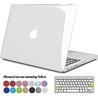 TECOOL Funda para MacBook Pro 13 Pulgadas con Retina Display, Plástico Dura Case Carcasa con Tapa del Teclado para 2013-2015 MacBook Pro 13.3 Pulgada (Modelo: A1502/ A1425) - Transparente
