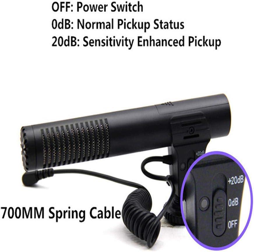 JSX Professional 3.5Mm Camera Recording Microphone Audio Plug for Camera DSLR Digital Video Computer Camcorder VLOG Microfone
