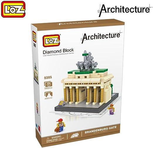 LOZ Architecture Brandenburg Gate: Amazon.es: Juguetes y juegos