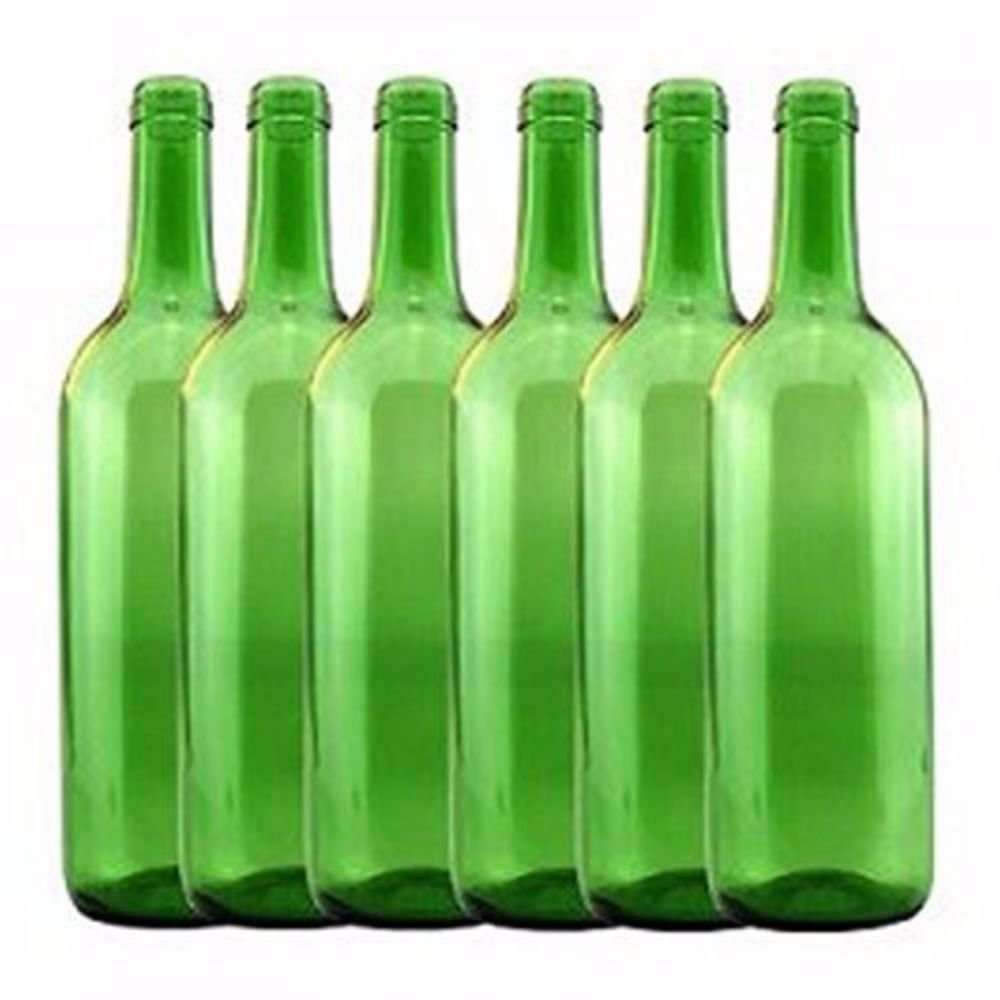 Emerald Green Claret//Bordeaux HOZQ8-1288 Home Brew Ohio 6 gal Bottle Set 36 Bottles