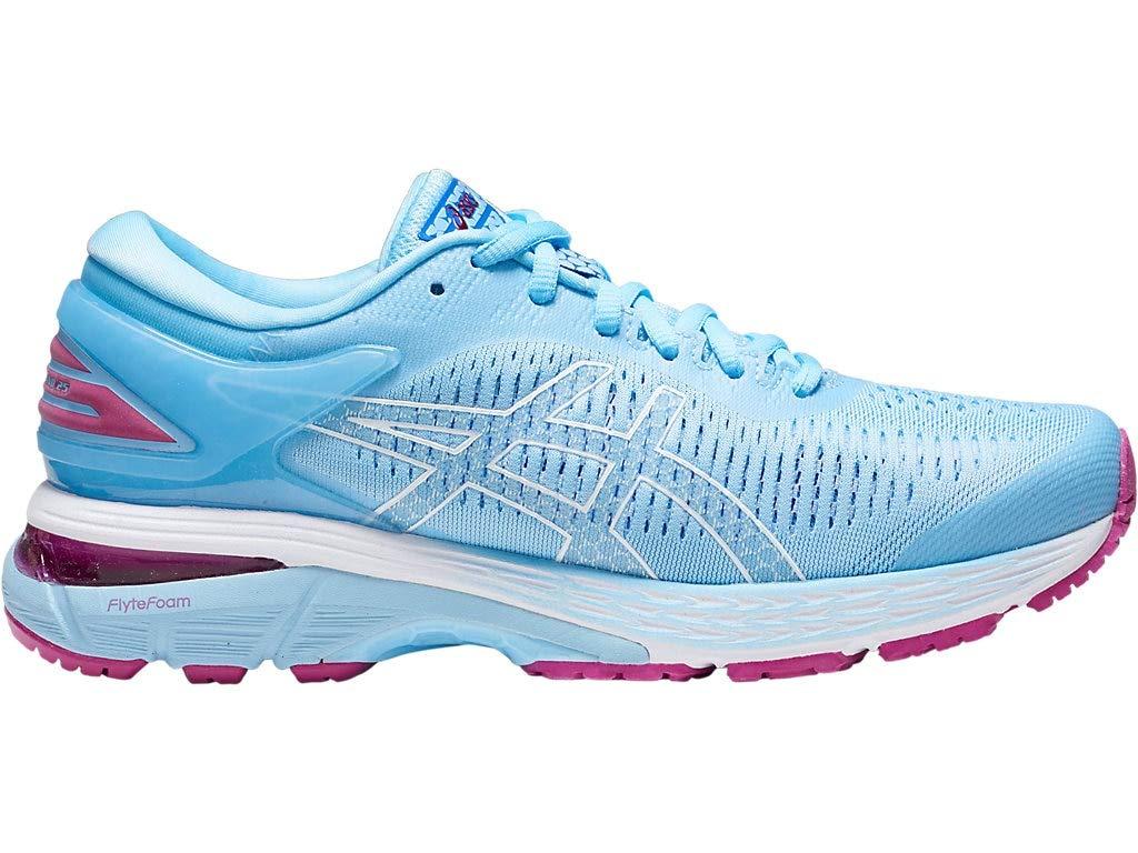 ASICS Women's Gel-Kayano 25 Running Shoes, 7.5M, Skylight/Illusion Blue by ASICS