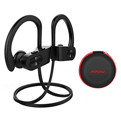 Mpow Auriculares Bluetooth Deportivos, V4.1 Impermeable IPX7 In-Ear Cascos Inalámbricos,