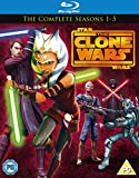 Star Wars Clone Wars - Season 1-5 [Blu-ray]
