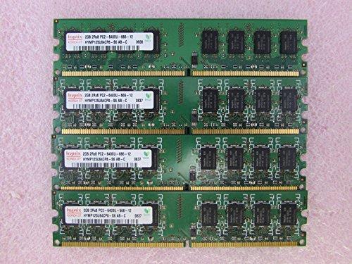 (Hynix HYMP125U64CP8-S6 8GB 4 x 2GB PC2-6400U DDR2 800 Non-ECC Unbuff Memory Kit)