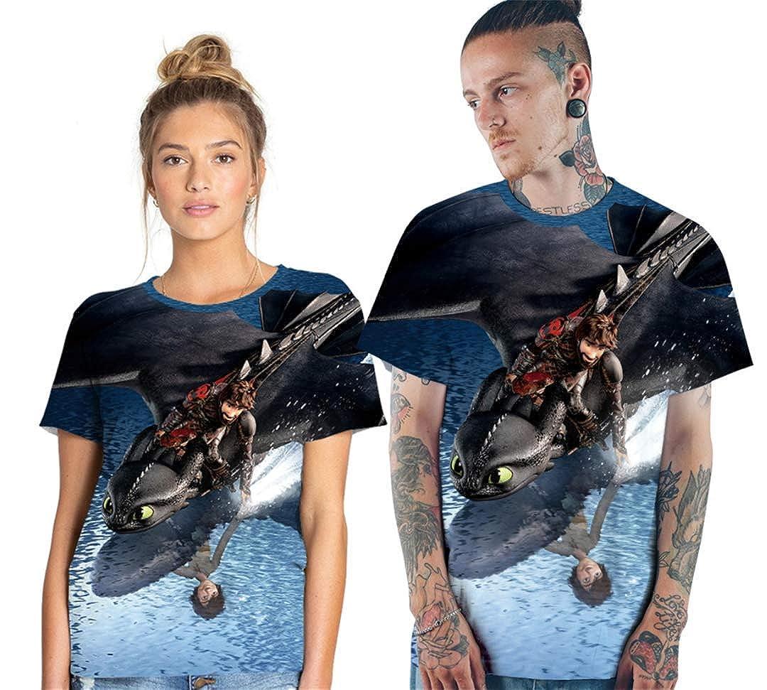 Unisex 3D Print Summer Casual Short Sleeve T-Shirt Top T-Shirt