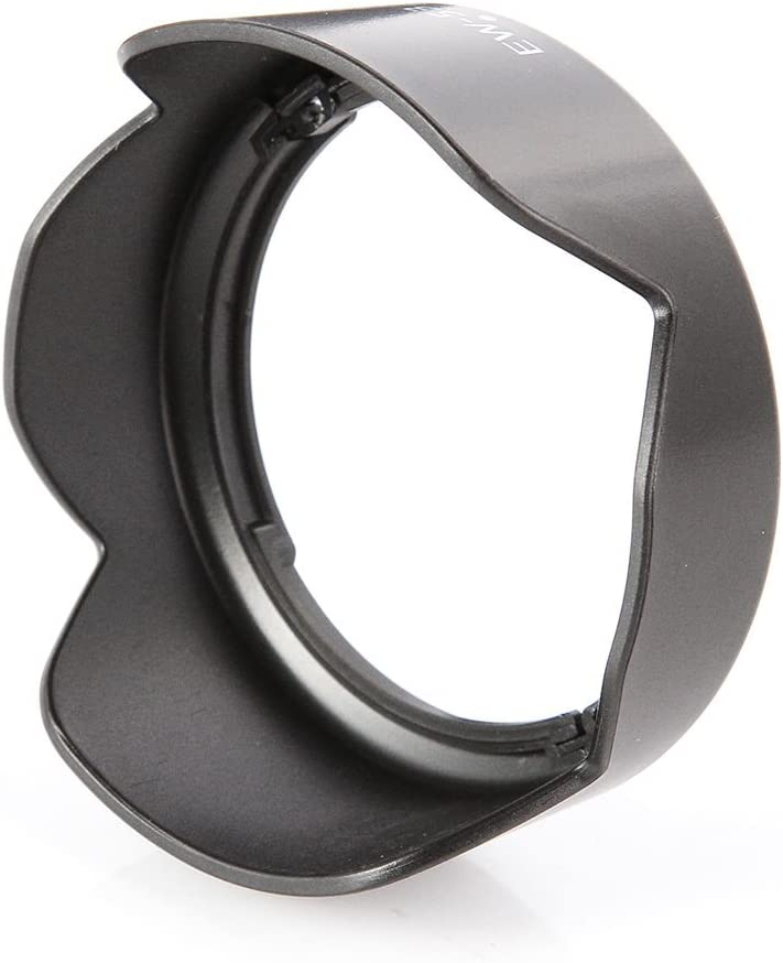 WH1916 Lens Hood for Canon EOS M100 M50 M6 M10 with EF-M 15-45mm f//3.5-6.3 is STM Lens Replaces Canon EW-53