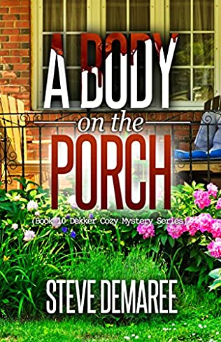 book cover of A Body on the Porch