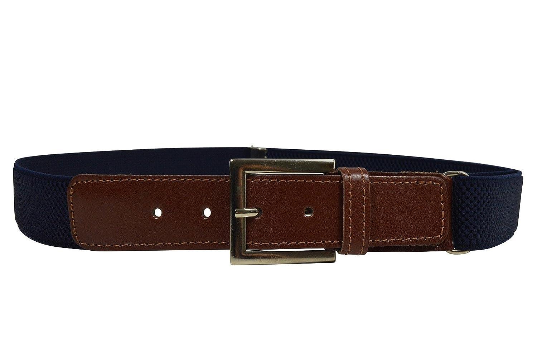 Durable Modelando Olata Cinturón Elástico Cuero Marrón para los  Niños Jóvenes 5-15 01bc310dcf25