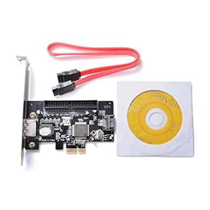 XCSOURCE® PCI-E Express a SATA II eSATA 39Pin IDE (Pata) Adaptador de Tarjeta de Control de Expansión JMB363 Chipset AC697
