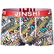 JINSHI Mens Comfort Soft Bamboo Underwear Athletic Boxer Briefs Assorted 8 Pack Size XL