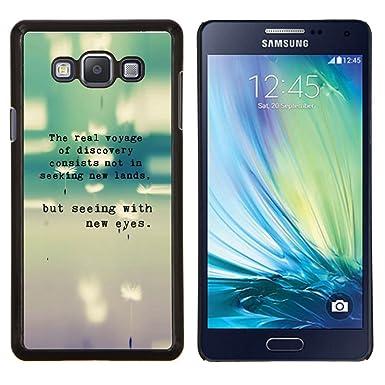 """Planetar® (Gris trullo Máquina de escribir texto gris Poema dulce"""")  Samsung Galaxy"""