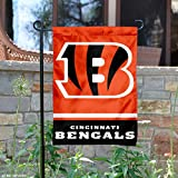 Cincinnati Bengals Double Sided Garden Flag