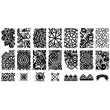 Stamp Nailart Stencil Nail Art Stamping Plate 1