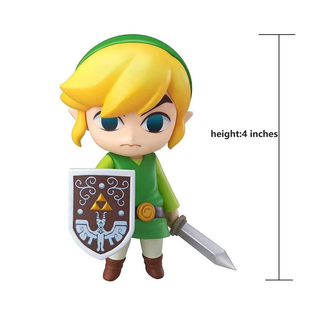 Yanshangqi La Leyenda de Zelda: Figura de acción de Nendoroid de ...