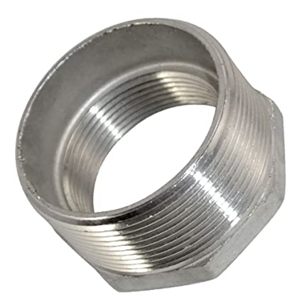1-1//2Male x 1-1//2 Male Threaded Pipe Fitting,Nipple,Stainless Steel SS304 NPT